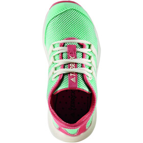 adidas TERREX CC Voyager Shoes Kinder easy green/chalk white/tactile pink